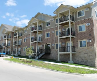 Building, Hilltop Apartments Senior Living