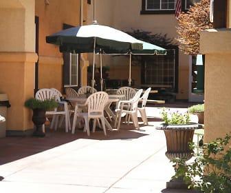 Courtyard, Carriage Stone