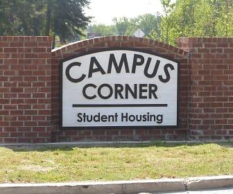 Community Signage, Campus Corner