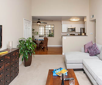 Living Room, The Villages Apartment Homes