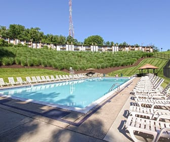 Pool, Crane Village Apartments