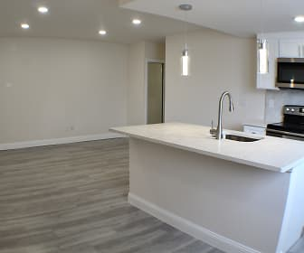 Kitchen, Academy Meadow Apartments