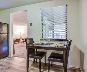 Dining Room, Peppertree Apartments