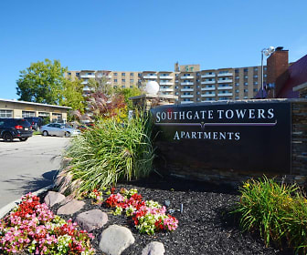Community Signage, Southgate Towers