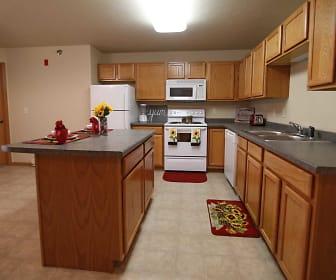 Kitchen, BelCastle Apartments