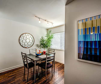Dining Room, Beverly Plaza Apartments