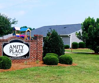 Community Signage, Amity Place