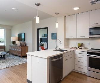 Kitchen, Silver Apartments