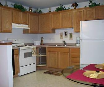 Kitchen, Audubon Park Apartments and Townhouses