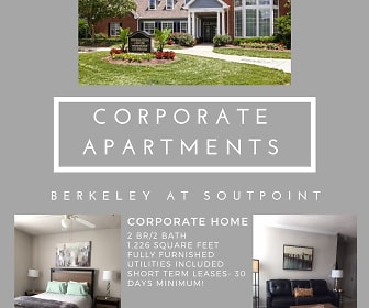 The Berkeley at Southpoint, Durham, NC