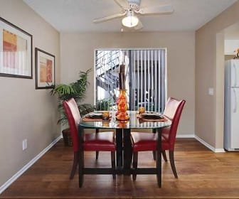 Dining Room, 777 Place Apartments