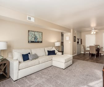 Living Room, Century City Apartments