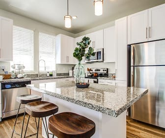 Kitchen, Aero Luxury Townhomes