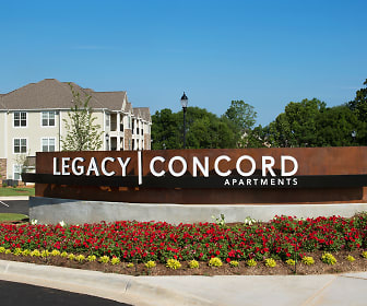 Community Signage, Legacy Concord Apartments