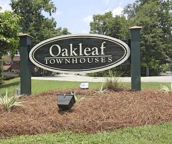 Community Signage, Oakleaf Townhouses