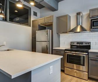 Kitchen, AP Lofts at Larkinville