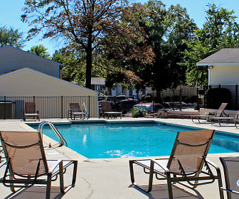 Pool, Timberchase Apartments