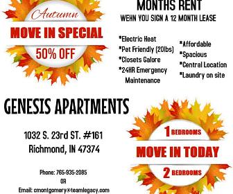 Genesis Apartments, Richmond, IN