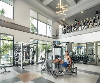 Fitness Weight Room, Peridot Palms