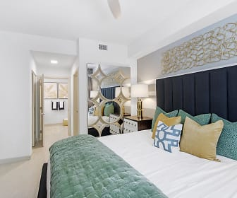 bedroom with carpet, Aura Boca