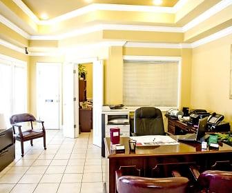 Interior-Leasing Office, Belle Oak Apartments