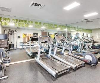 Fitness Weight Room, Steeplechase Apartments