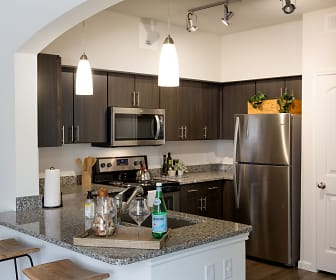 Kitchen, Santa Clara Apartments
