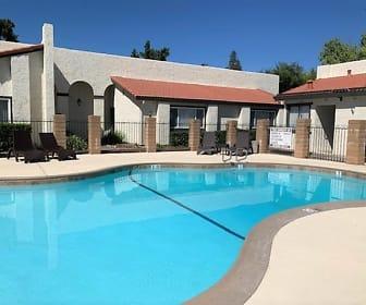 Pool, Montecito Apartments