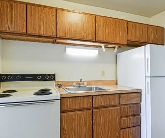 Kitchen, Garrett House Apartments