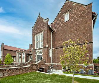 Lyon School Apartments, South Broadway Bluffs, Saint Louis, MO