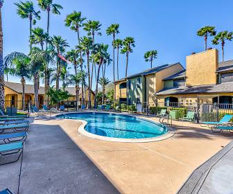 Pool, Sierra Apartments