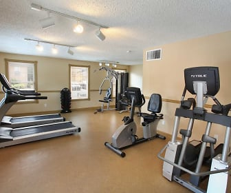 Fitness Weight Room, The Legacy Apartments
