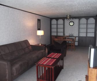 Living Room, Plumwood Apartments