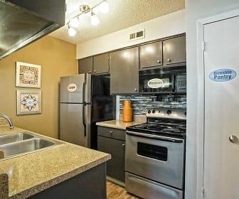 Kitchen, Keller Oaks Apartments