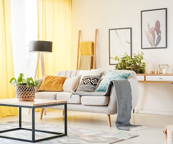 Living Room, The Allure at Rivers Edge