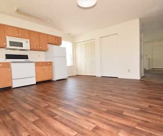 Kitchen, Ashley Square Apartments