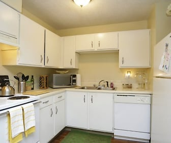 Kitchen, Timberline Apartments