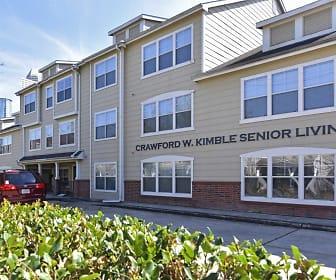 Kimble Senior Housing, Fourth Ward, Houston, TX