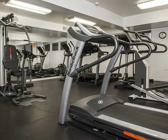 Fitness Weight Room, Huntington Square