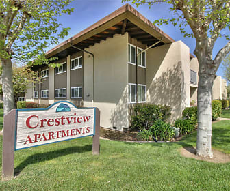 Community Signage, Crestview Apartments