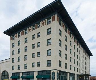 Building, Drake Plaza