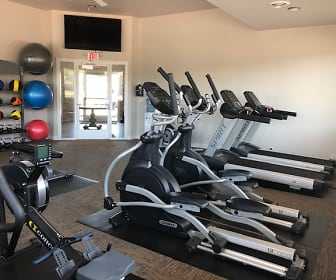 Fitness room, Sand Lake Apartments