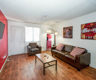 Living Room, INDI Tucson- Per Bed Lease