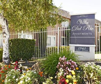 Community Signage, Villa Del Rio Apartments