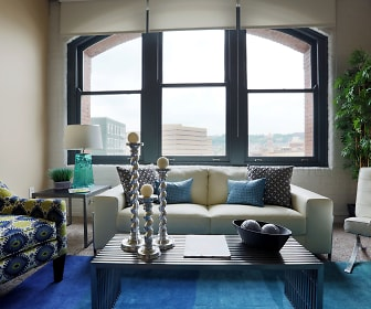 Living Room, Sycamore Place & East 8 Lofts