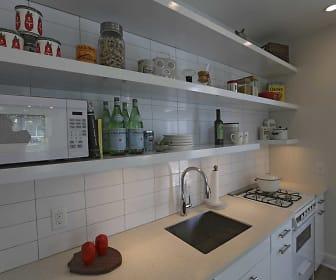 Kitchen, Link Apartments Mixson
