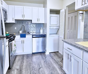 Kitchen, East Meadow Apartments