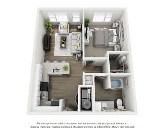 Ava Floorplan, Veere Apartments