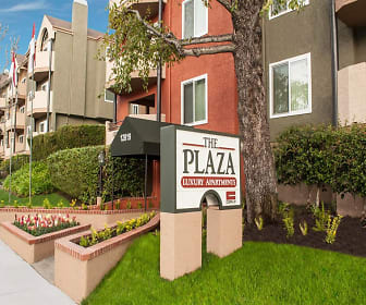 The Plaza Apartments, Los Angeles Valley College, CA