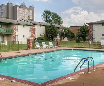 Pool, Hillcrest 90 Apartments